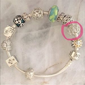 Pandora open detail CHARM ONLY